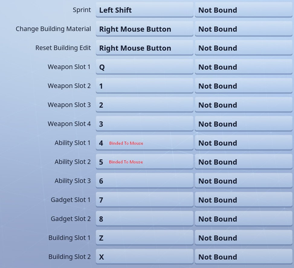 Myth Fortnite Settings 2019 – Settings, Sensitivity, Keybinds & Controls