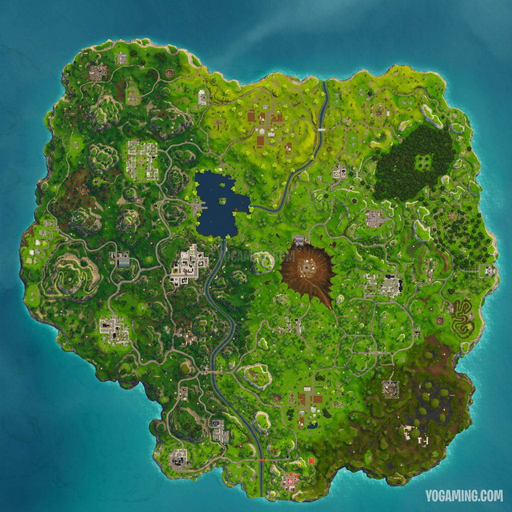 Fortnite Season 4 Map High Resolution