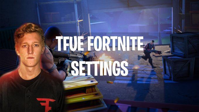 FaZe Tfue Fortnite Settings