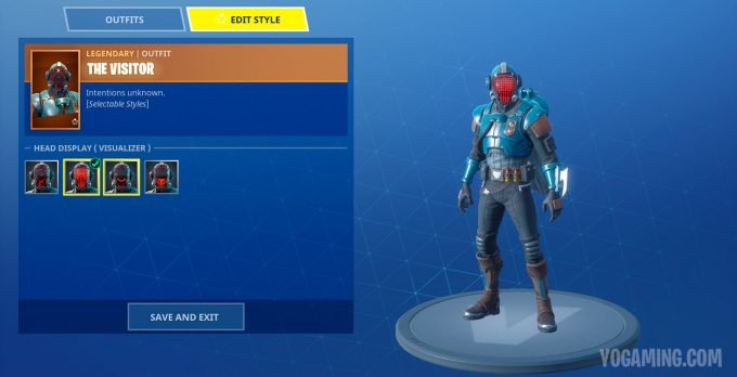 Fortnite Blockbuster Challenge Skin