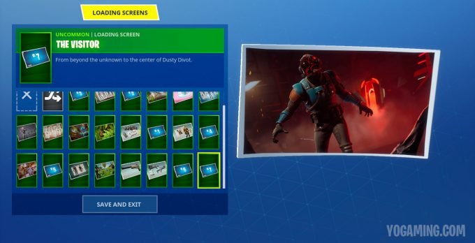 Fortnite Blockbuster Challenge Loading Screen