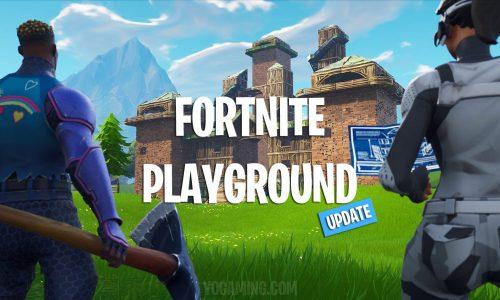 Fortnite Playground Update