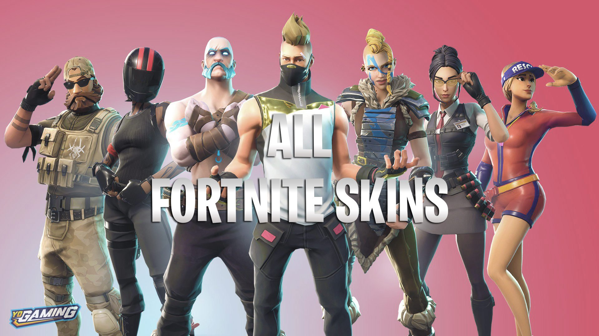List Of All Fortnite Skins Outfits Amp Cosmetics Updated