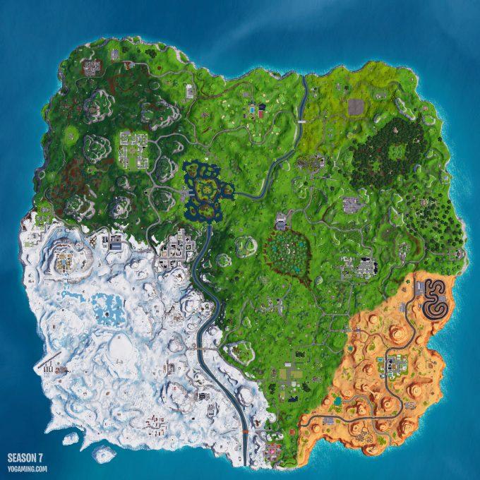 Fortnite Season 7 Map Download