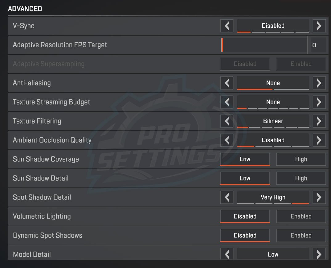 The Best Settings & Keybinds for Apex Legends 2019