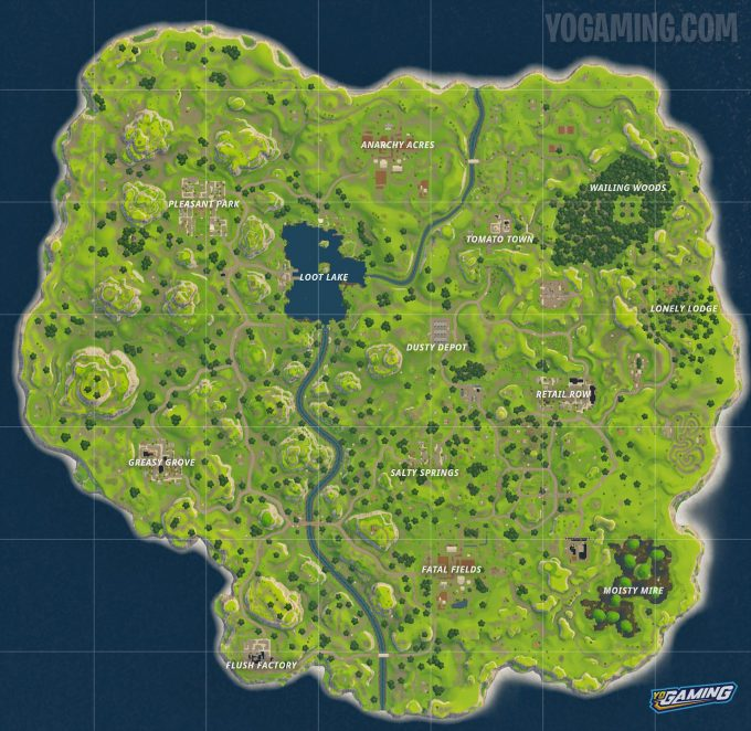 Fortnite Map 1.0