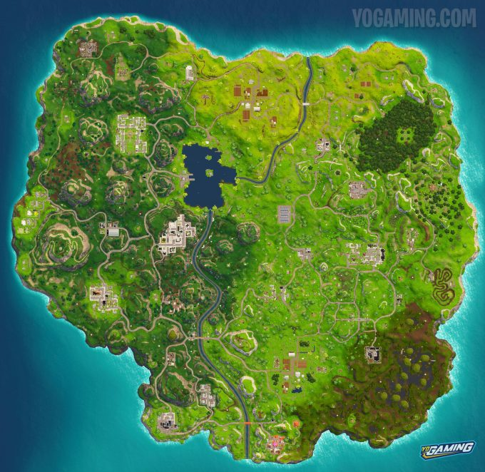 Fortnite Map 3.0