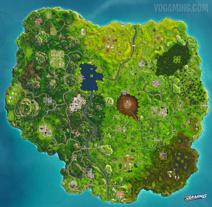 Fortnite Map 4.0