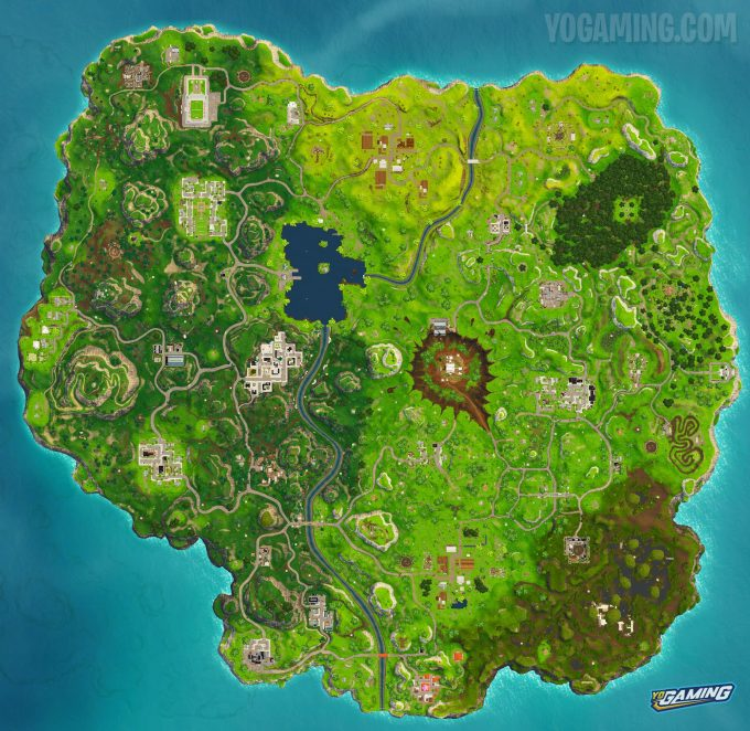 Fortnite Map 4.5