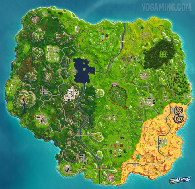 Fortnite Map 5.0
