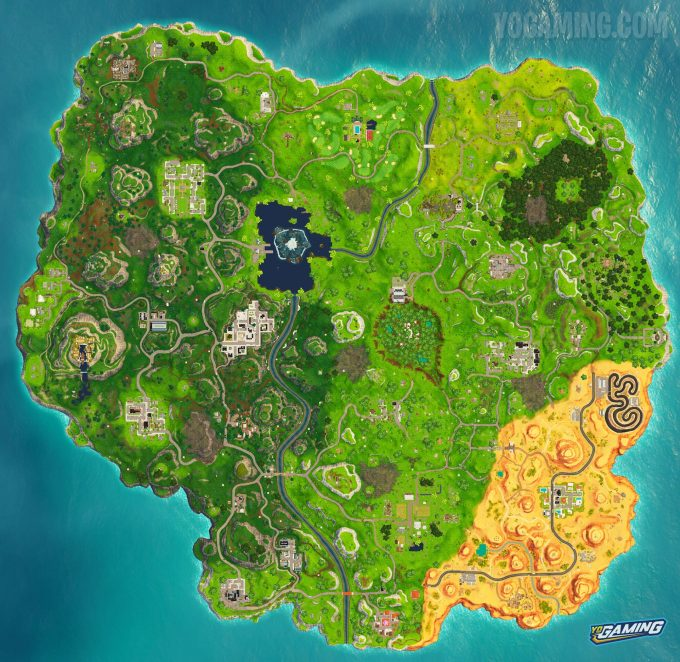 Fortnite Map 6.21