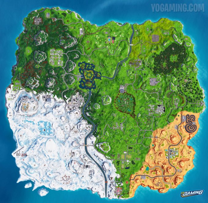 Fortnite Map 7