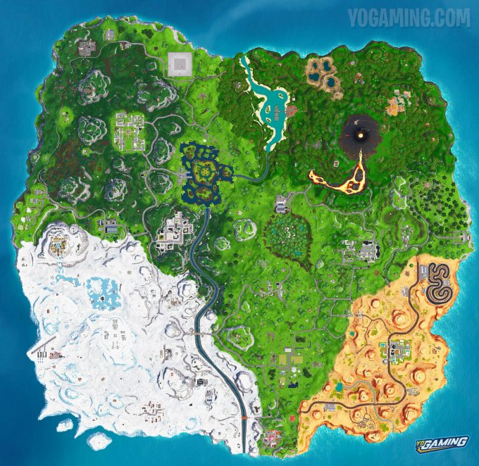 Fortnite Map 8.0